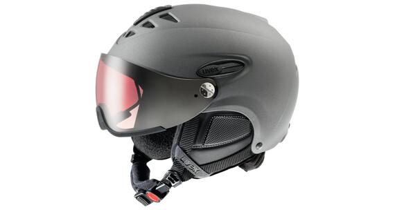 UVEX hlmt 300 pola - Casque de ski - noir